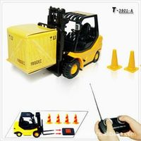 1:20 Engineering forklift,Export  world 6 channel mini remote control car,Miniature crane,Electric wireless ,free shipping