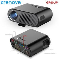 Crenova GP90UP LED Projector Built-in Android 4.4 8GB ROM / 1GB RAM WIFI Bluetooth