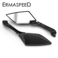 ERMASPEED Universal Motorcycle Rear View Mirrors Handlebar Rearview Side mirror