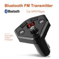 OMESHIN Bluetooth decoder FM Transmitter Wireless Radio Adapter USB Mp3 Player 1