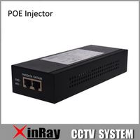 HIKVISION RJ45 Metal POE Injector LAS60-57CN-RJ45 for Surveillance IP Camera 10/100/1000Mbps Date Speed POE Power Adapter
