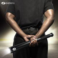 SHENYU Baseball Bat LED Flashlight 2000Lumens Super Bright Baton Torch Self Defense