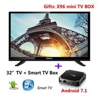 Canca 32 Ordinary gifts Android7.0 system box 32 inch TV 16:9 kodi 17.0 Media Player