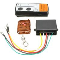 EDFY Electric Wireless Winch Remote Control Handset 12V Heavy Duty For Truck Atv SUV