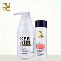 PURC 8% formalin Brazil Keratin Treatment 100ml purifying shampoo hair care make