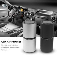 CATUO Mini Portable Car Air Purifier Vehicle Fresh Anion Ionic Oxygen Bar