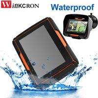 winkcron version 4.3 Inch Car IP67 Waterproof Moto Bluetooth GPS Navigator