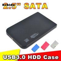 "kebidu USB 3.0 2.0 USB3.0 External 2.5"" 2.5 inch SATA Hard Disk Drive Aluminum Case"
