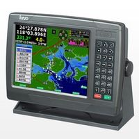 APRICOTCAR 10 Inch Marine GPS Satellite Navigation Instrument Route Waterproof