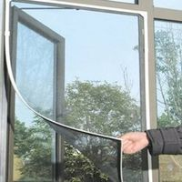 Insect Fly Bug Mosquito Door Window Net Netting Mesh Screen Sticky Tape 2017 Hot Sale