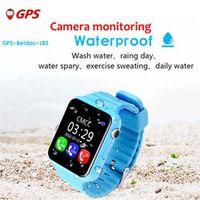 Children Baby GPS Smart Watch For Kids Safe SIM Tracker