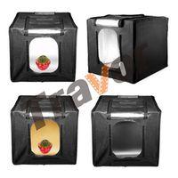 Travor Unique Design Led Light Tent softbox M40 size 40*40*40CM 72pcs SMD Beads Lumex 12000LM-13000LM CRI95 5500K