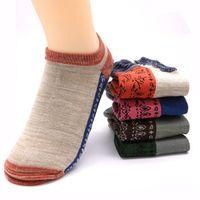1Pair Women's Socks Women 3D Print Vintage Funny Art Socks Ladies Low Cut Ankle Boat Socks Short Fashion Calcetines Mujer Female
