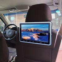 REAKOSOUND 10.1 Inch 1024*600 2PCS Car Headrest Monitor DVD Player