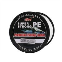 Super Strong 4 Strand 300M Premium PE Braided Fishing Line Lake Multifilament Wire