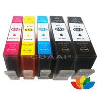 COAAP 5 Compatible 655 hp655 ink cartridge FOR HP deskjet 3525 4615 4625 5525 6525