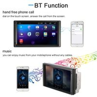 "KKMOON 7"" Universal 2 Din Car video/mutimedia Player GPS Navigation Touch Screen"