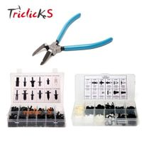 Triclicks Car Body Plastic Push Pin Rivet Trim Moulding Clip Assortments Retainer