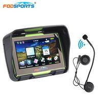 Fodsports 4.3 Inch 256MB 8GB motorcycle motorbike IPX7 GPS navigator waterproof