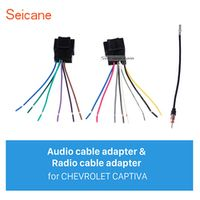 seicane Wiring Harness Audio Radio Plug Adapter Cable for CHEVROLET CAPTIVA