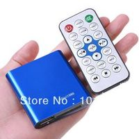 JEDX Car Media Player Mini Full HD 1080P with Remote Control HDMI Output USB/SD