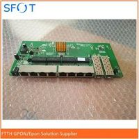 SFOT POE Reverse Switch Board 2 Ports SFP 8 Ports GE Rj45 Operational PD