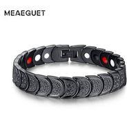 Meaeguet Magnetic Healthy Bracelets & Bangles For Women Multi Function Magnetic Bracelet Jewelry