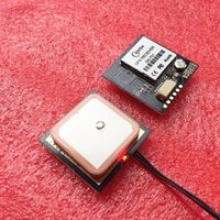 TOPGNSS UART TTL level UBLOX 7020 neo-7m-c gnss chip GPS module antenna built-in