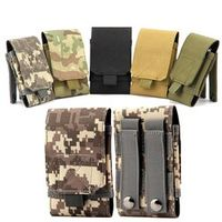 BIBOVI Outdoor Nylon Army Camouflage Mobile Phone Bags Cases For iPhone Plus