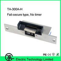 Biometric electric strike lock fail-secure type lock NO type lock electric strike lock for door access control system TA-300A-H