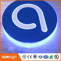 shsuosai Popular outdoor led light box with stand