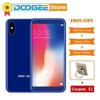 DOOGEE X55 5.5 inch Android 7.1 Smartphone 3 Cameras 1GB 16GB Fingerprint IDMTK6580