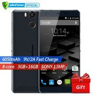 Ulefone Power Mobile Phone 5.5 Inch MTK6753 Octa Core Android 6.0 3GB RAM 16GB ROM