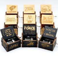AIBOULLY Two Colors Star Wars Game of Thrones Music Box