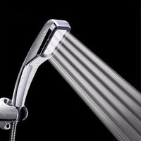 KOYIDA 300 hole Water-Saving High Pressure rainfall Shower Head ABS Plastic square