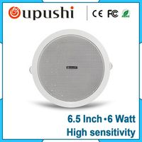 Oupushi Super 6 watt 6.5 Inch ceiling Embedded speaker Public broadcasting system