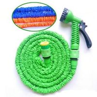 25-50-75-100FT Flexible Expanding Garden Hose Reel Tube
