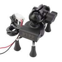CATUO 2018 Bicycle Motorcycle GPS Stand Holder USB Charger Power Outlet Socket