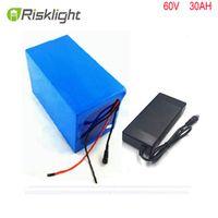 Risklight Rechargable li-ion battery pack Lithium ion battery 60V 30AH 3000W