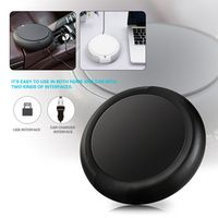 KKMOON Car Air Purifier with Filter Portable USB Cleaner Remove Formaldehyde