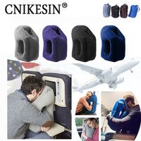 CNIKESIN Travel pillowInflatable air soft cushion trip portable innovative products