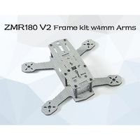 TAROT-RC ZMR180 V2 Mini Quad Frame Kit Arms w with PDB 4mm bottom 1.5 mm top plate