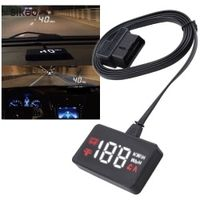 sikeo A100 Car HUD Head Up Display OBD2 II EUOBD Overspeed Warning System Projector