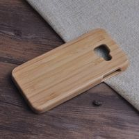 Newoer Real Bamboo Case For Samsung Galaxy A3 2016 A3100 A310 A310F Naturel Wooden