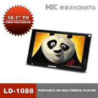 10 Inch Leadstar DVBT/DVBT2 Analog /ATSC/ISDB Mini Led HD Portable TV All 1 HDMI IN