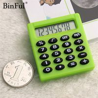BiNFUL Student Mini Electronic Candy 5 Colors Calculating Office Supplies Gift