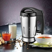 Hometech Electric Stainless Steel  Multi-function juicer  Soup Maker Machine with 56 Oz Capacity