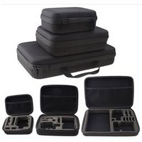 KEBETEME 1pcs Medium Portable Travel Storage Collection Bag Case for GoPro Hero 3 4