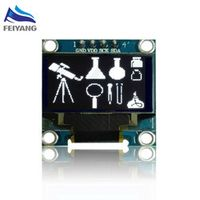 SAMIORE ROBOT A5 White color 128X64 OLED LCD LED Display