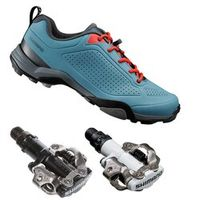 SHIMANO Click'R SH-MT300 MTB SPD port Shoes Design For Weekend Tours Touring